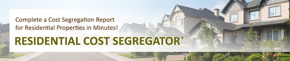 Residental Cost Segregation - Cost Segegration Software