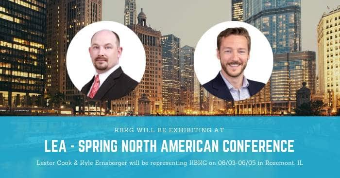 KBKG is Exhibiting at LEA Spring North American Conference