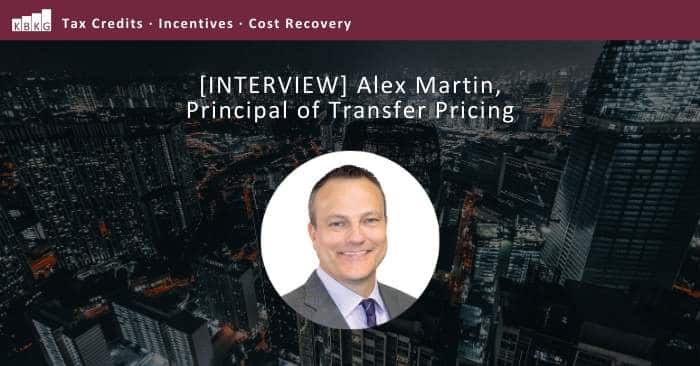 [INTERVIEW] Alex Martin, Principal of Transfer Pricing