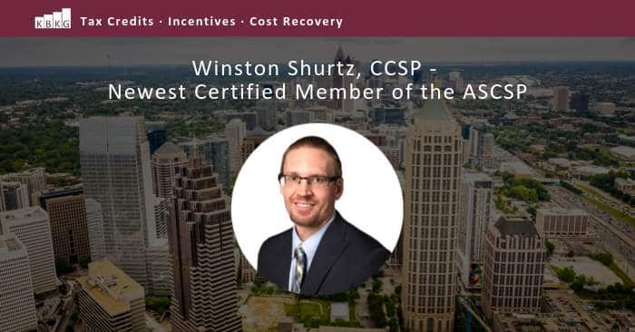 Winston Shurtz, CCSP – Newest Certified Member of the ASCSP