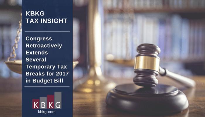 Energy Tax Incentives | KBKG