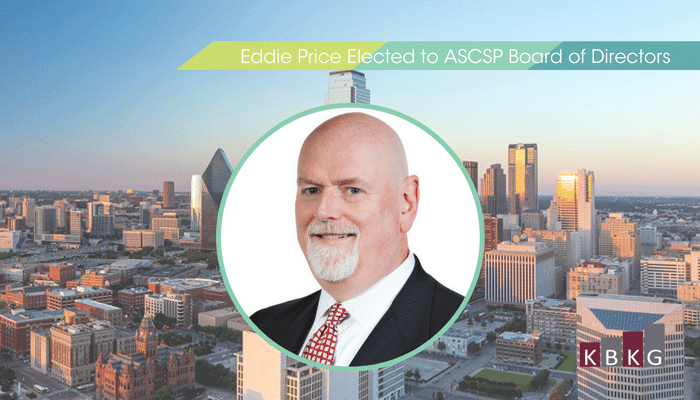 Eddie Price Elected to ASCSP Board of Directors