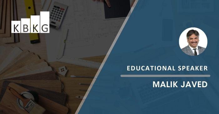 Educational Speaker – Malik Javed