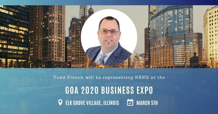 KBKG is Exhibiting at the GOA 2020 Business Expo