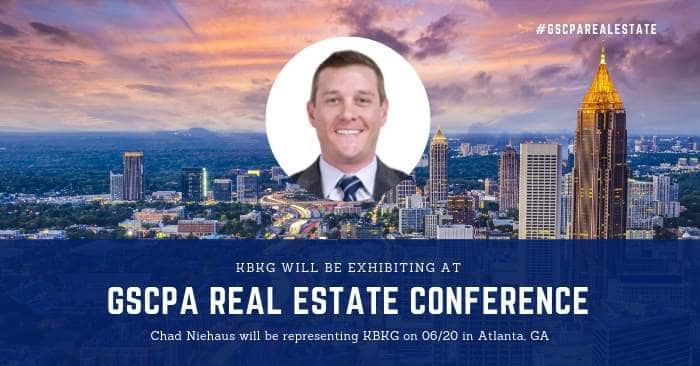 KBKG is Exhibiting at the GSCPA Real Estate Conference