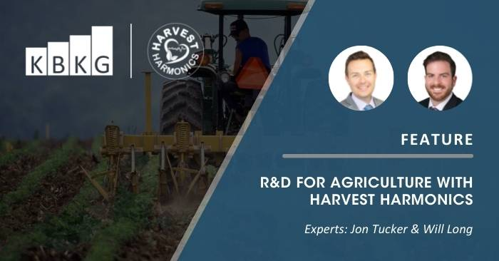 Feature: R&D for Agriculture with Harvest Harmonics