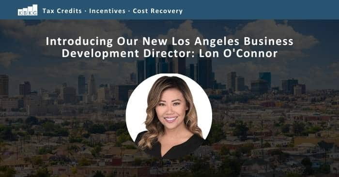 Introducing Our New Los Angeles Business Development Director: Lon O'Connor
