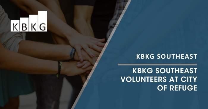 KBKG Atlanta Office Volunteers at City of Refuge
