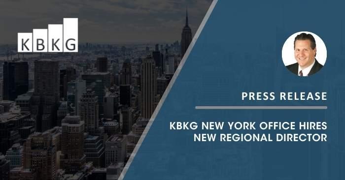 KBKG New York Office Hires New Regional Director