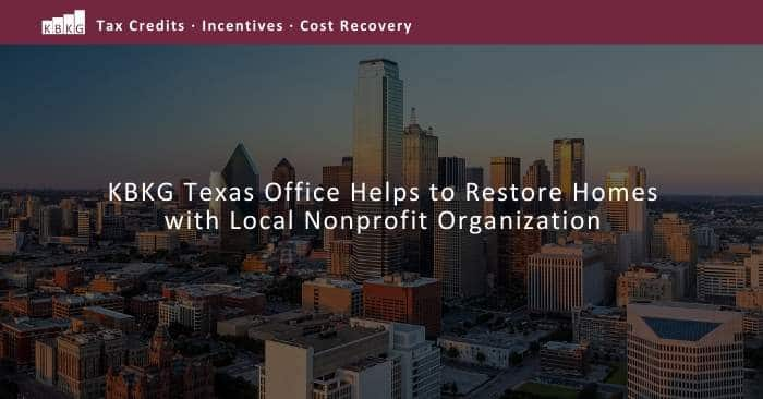 KBKG Texas Office Helps to Restore Homes with 6 Stones