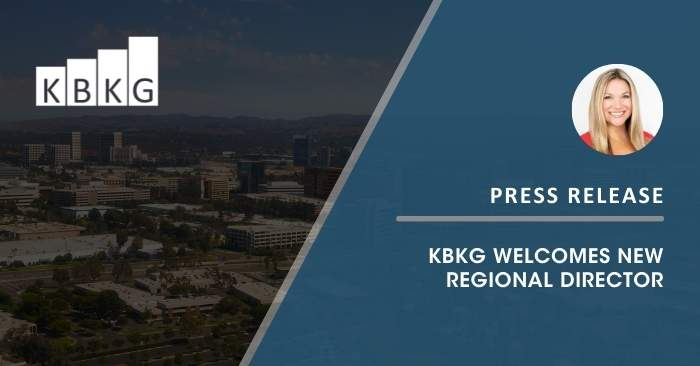 KBKG Welcomes New Regional Director