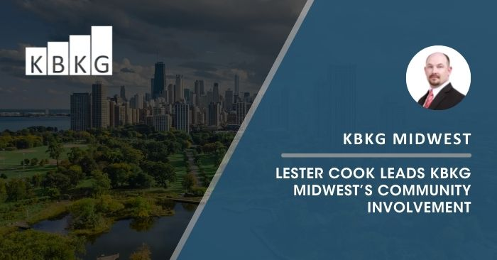 Lester Cook Leads KBKG Midwest's Community Involvement