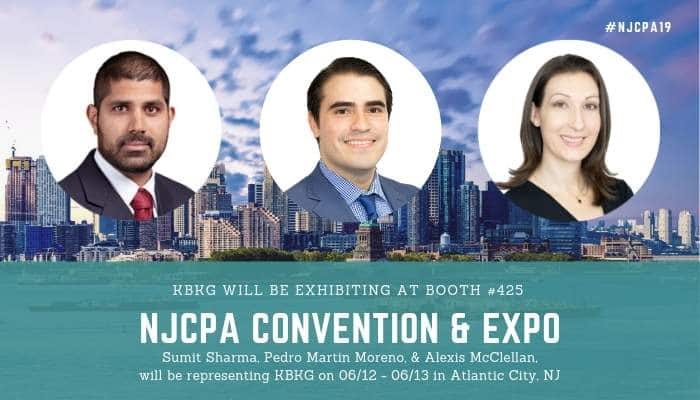 KBKG is Exhibiting at NJCPA Annual Convention & Expo
