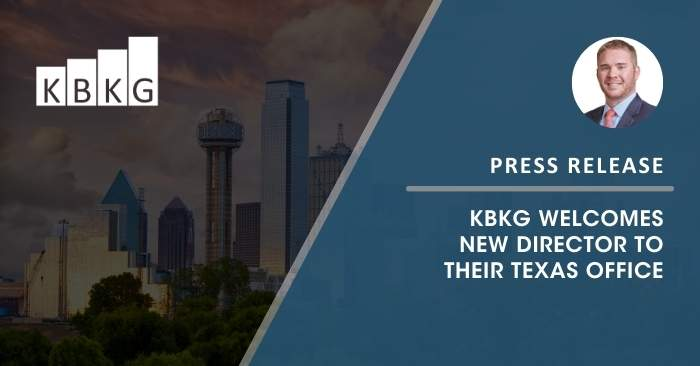 KBKG Welcomes New Director to Their Texas Office