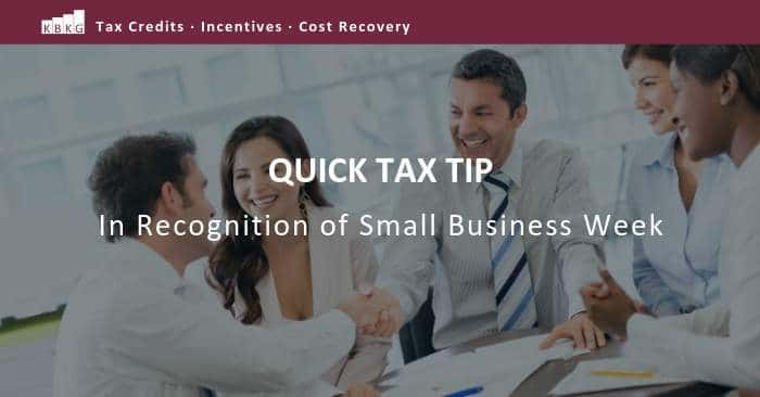 Tax Tip for Small Businesses: The Benefit of Bonus Depreciation