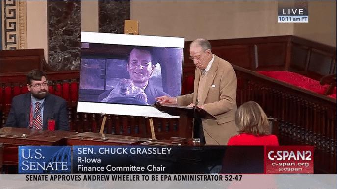 Senator Chuck Grassley Introduces 2018-2019 Tax Extenders