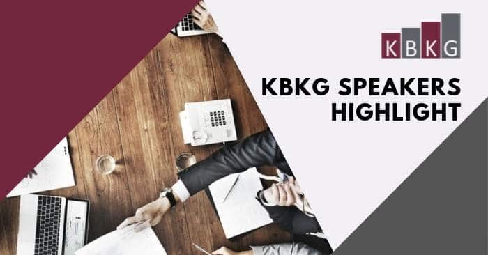 KBKG Speakers Highlight