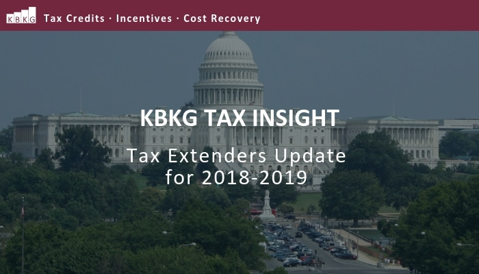Tax Insight: Senate and House Updates on Tax Extenders for 2018-2019
